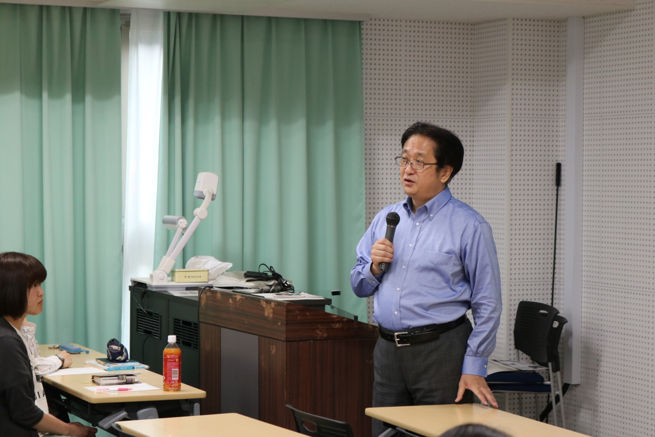 イオンモールの金岡氏による「グローバルキャリア入門」講義を実施しました