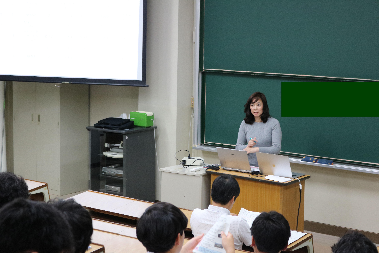 海洋工学部の海外インターンシップ説明会にて海外探検隊の説明を行いました
